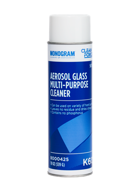 Monogram Clean Force Aerosol Glass Multi Purpose Cleaner
