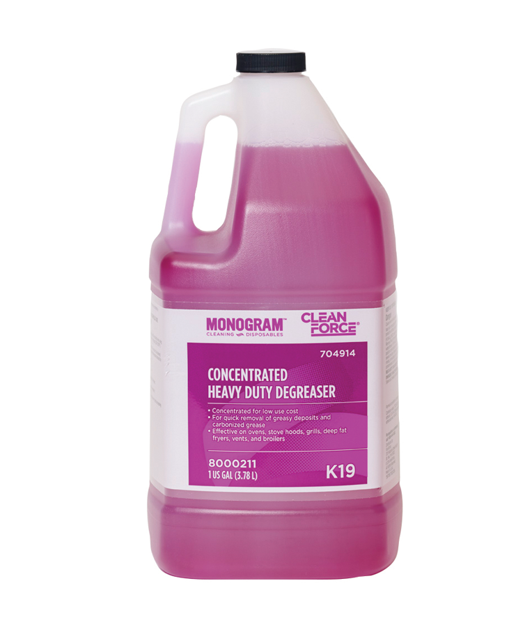 Monogram Clean Force Concentrated Heavy Duty Degreaser